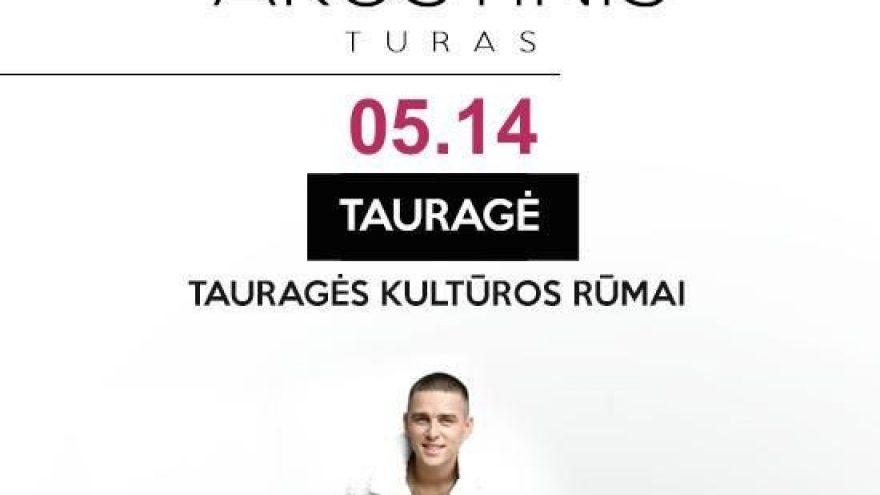 (Perkeltas) DONATAS MONTVYDAS AKUSTINIS TURAS   Tauragė