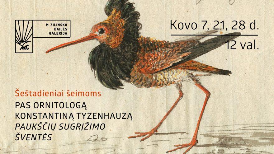 Šeštadieniai šeimoms pas ornitologą Konstantiną Tyzenhauzą