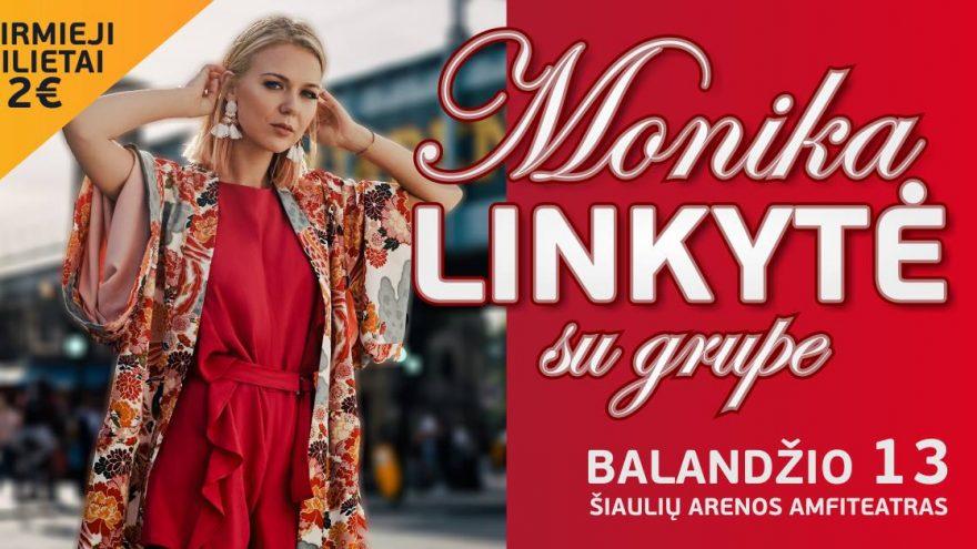 Monika Linkytė su grupe