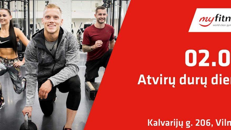 MyFitness Kalvarijų Atvirų durų diena sporto klube