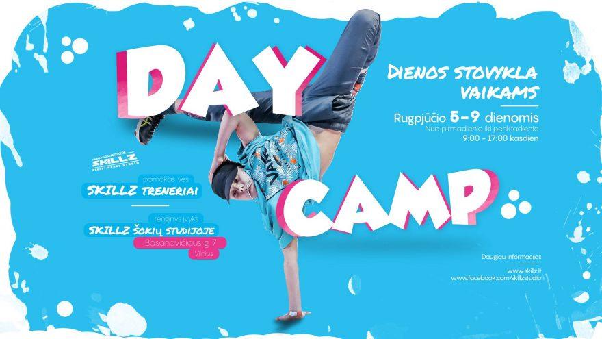 SKILLZ DAY CAMP – vasaros šokių dienos stovykla