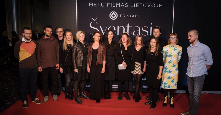 """Įvyko ilgai laukta nacionalinė geriausio metų filmo """"Šventasis"""" premjera"""