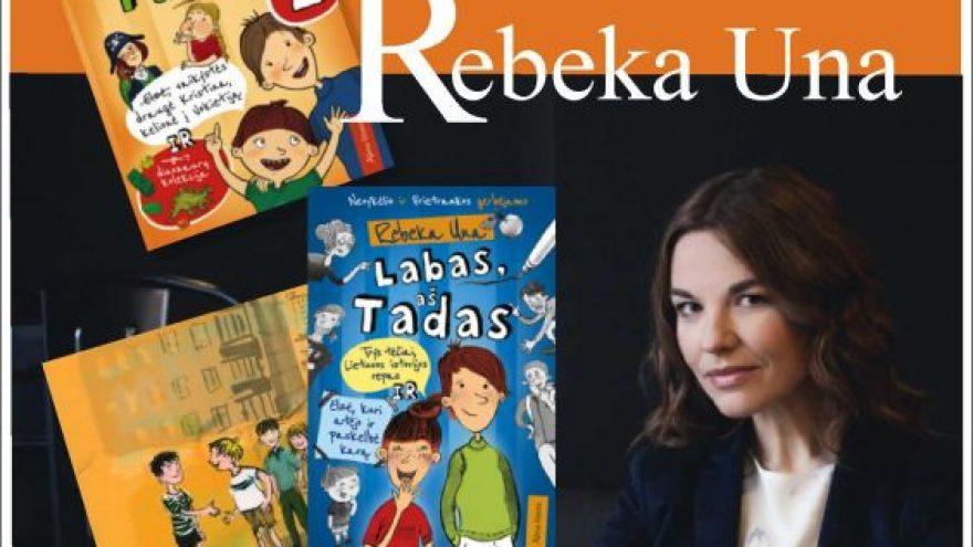 Susitikimas su rašytoja Rebeka Una