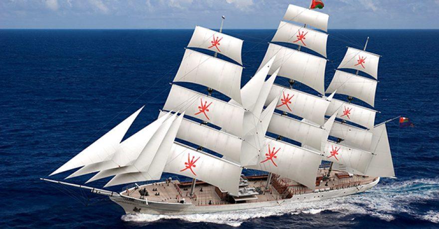 Omano jūreivystės simbolis Shabab Oman II nukels jus į Omaną