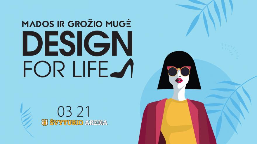 """Mados ir dizaino mugė ,,Design for life"""" Klaipėda"""
