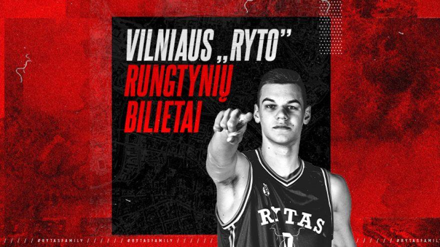 ATŠAUKTA: Vilniaus RYTO rungtynės: