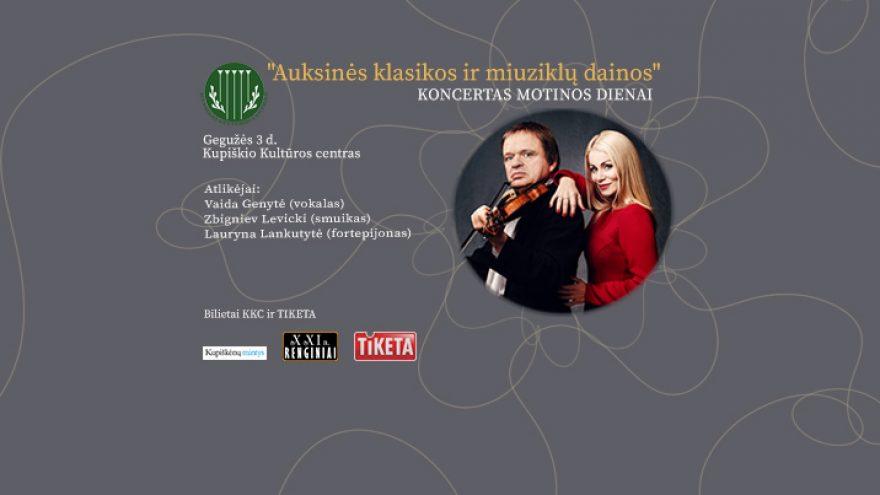Auksinės klasikos ir miuziklų dainos