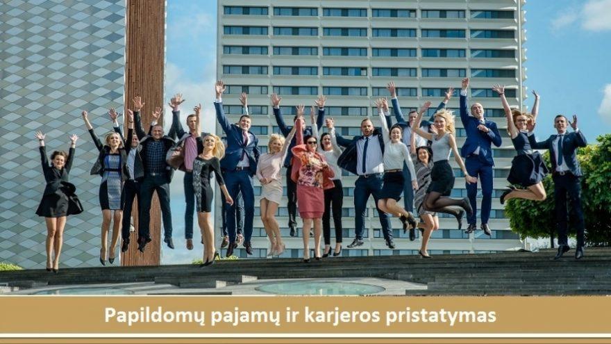 Papildomų pajamų ir karjeros pristatymas Vilniuje