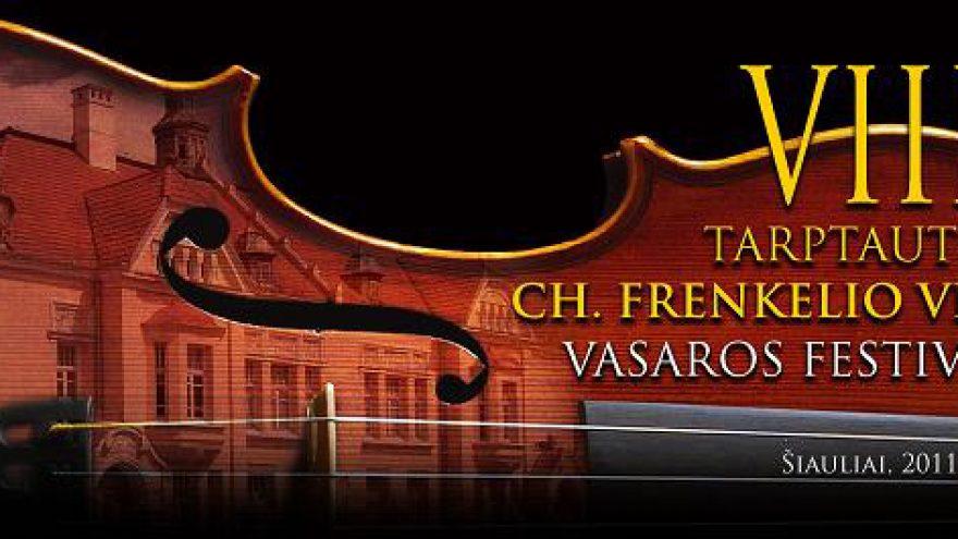 VIII tarptautinis Ch. Frenkelio vilos vasaros festivalis