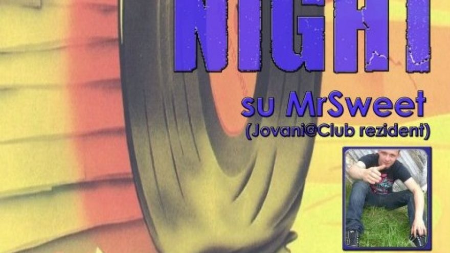 Sweet Night su MrSweet (Jovani@Club rezident)