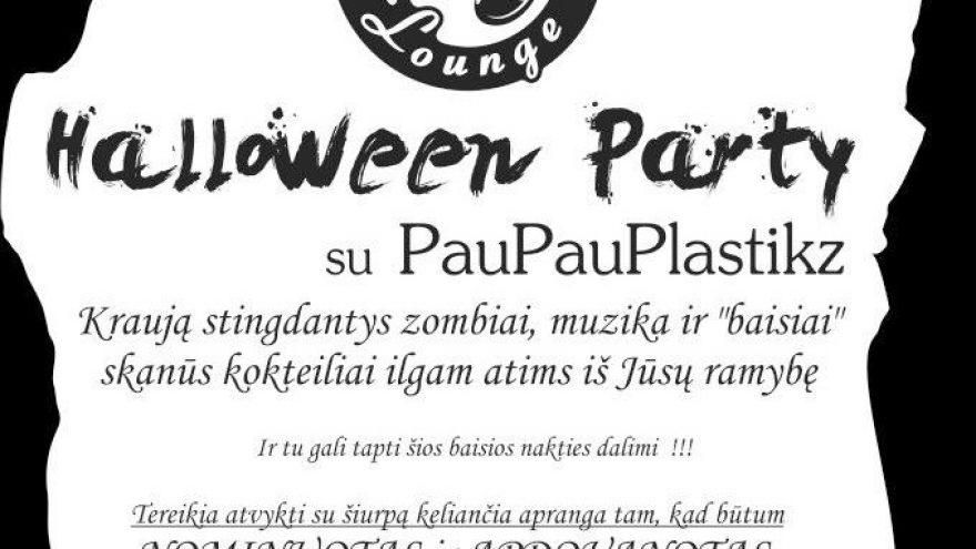 Halloween Party su PauPauPlastikz @ Brandy Lounge