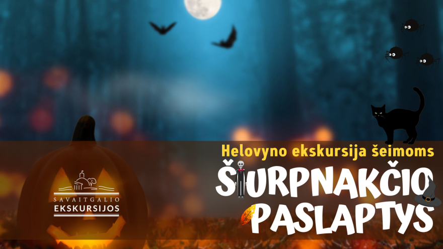 Šiurpnakčio paslaptys: Helovyno ekskursija šeimoms