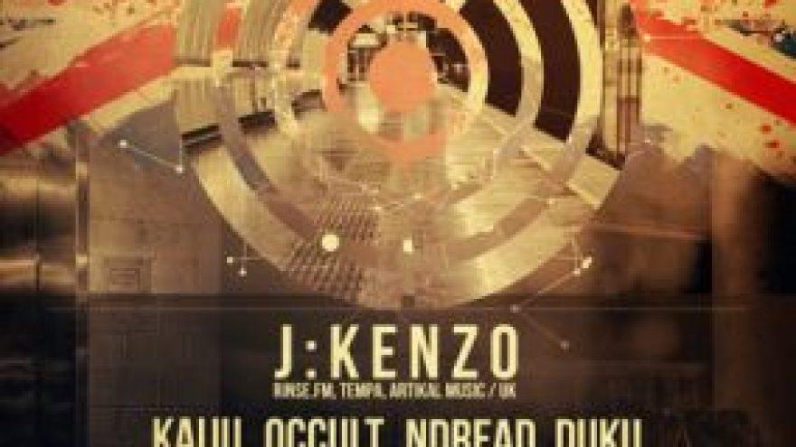 SOUNDBOYS.LT pristato: J:KENZO (UK)