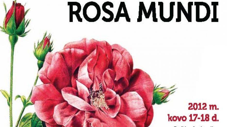 Rožių konferencija Rosa mundi
