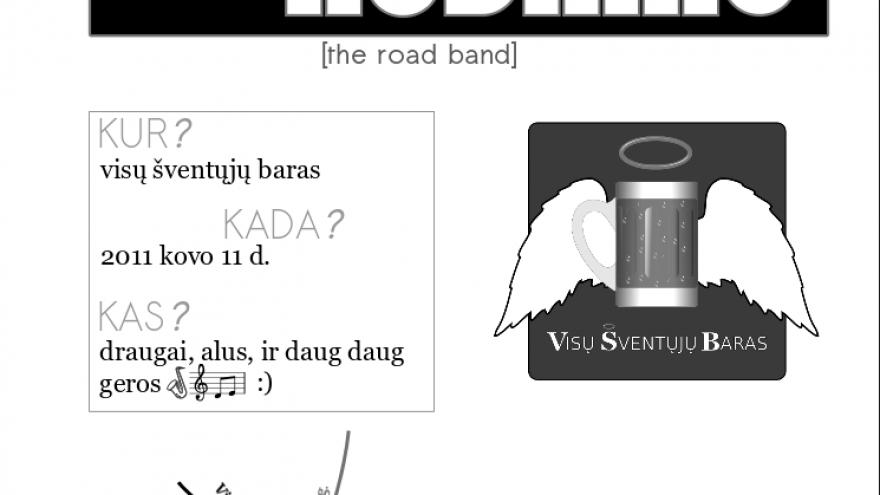 Dariaus Kodiko (The Road Band) gyvos muzikos vakaras