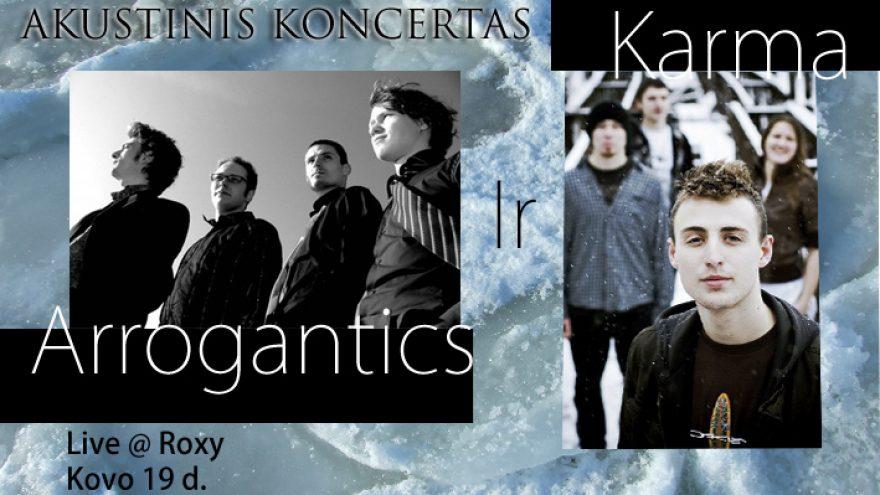 KARMA & ARROGANTICS_akustiškai
