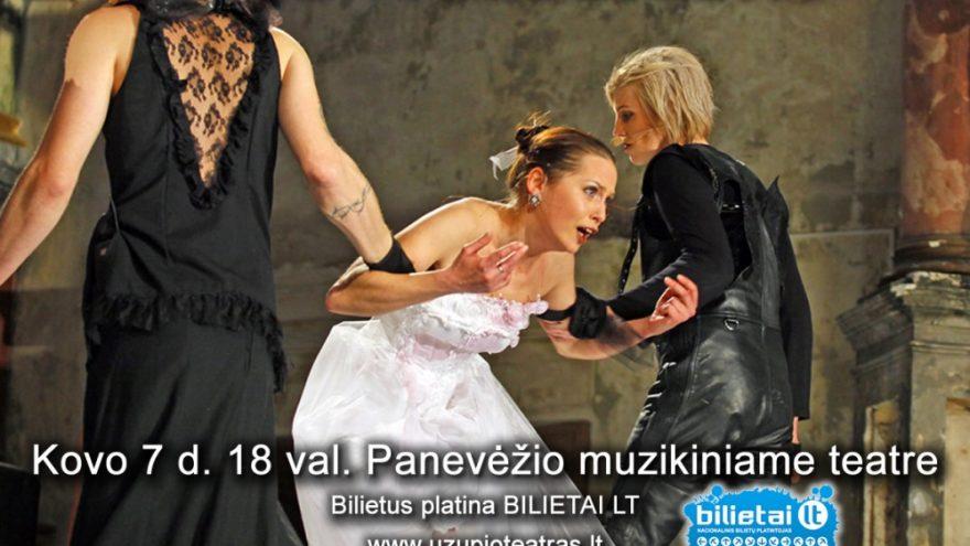 "PREMJERA: J. Ivanauskaitės spektaklis ""Bomba arba Ariel"""