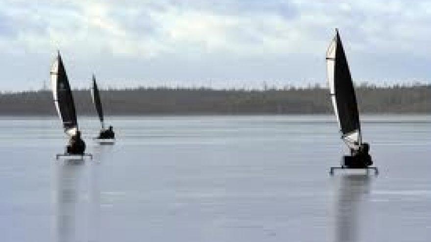 Žiemos šventė prie Rėkyvos ežero