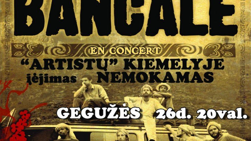 """La Casa Bancale"" vienintelis koncertas LT"