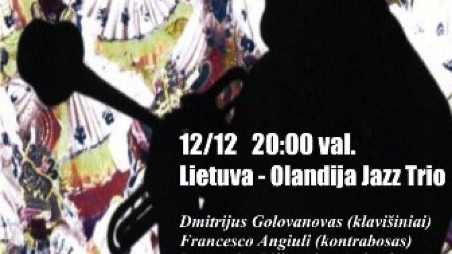 Olandija-Lietuva Jazz Trio