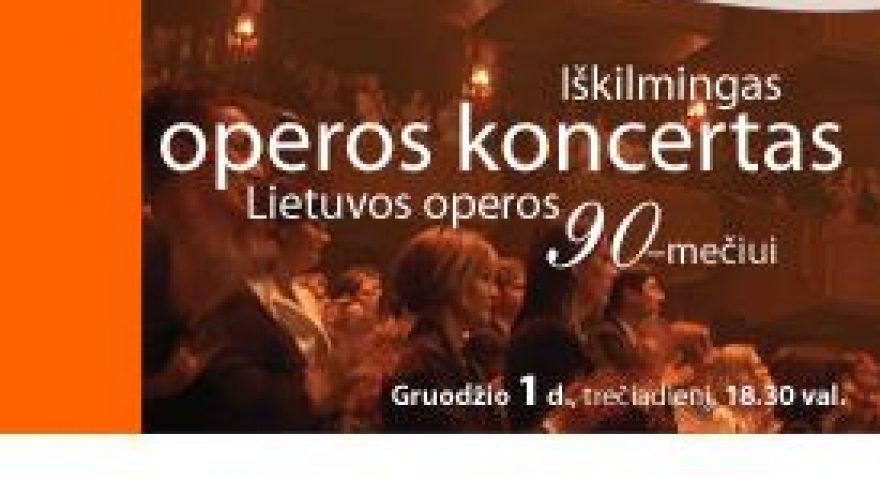 Iškilmingas operos koncertas