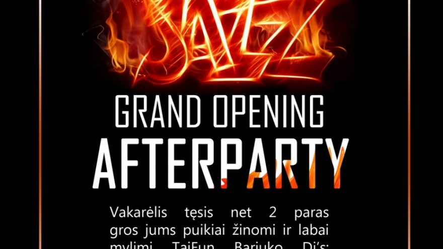 JAZZ AFTERPARTY @TAIFUN