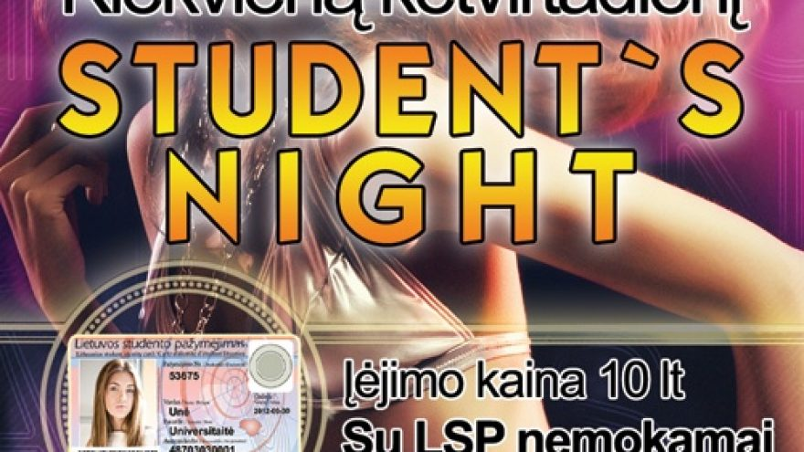 Student`s night