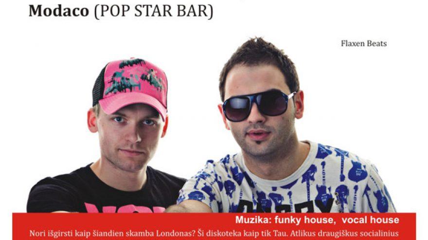 FLAXEN BEATS @ POP STAR BAR