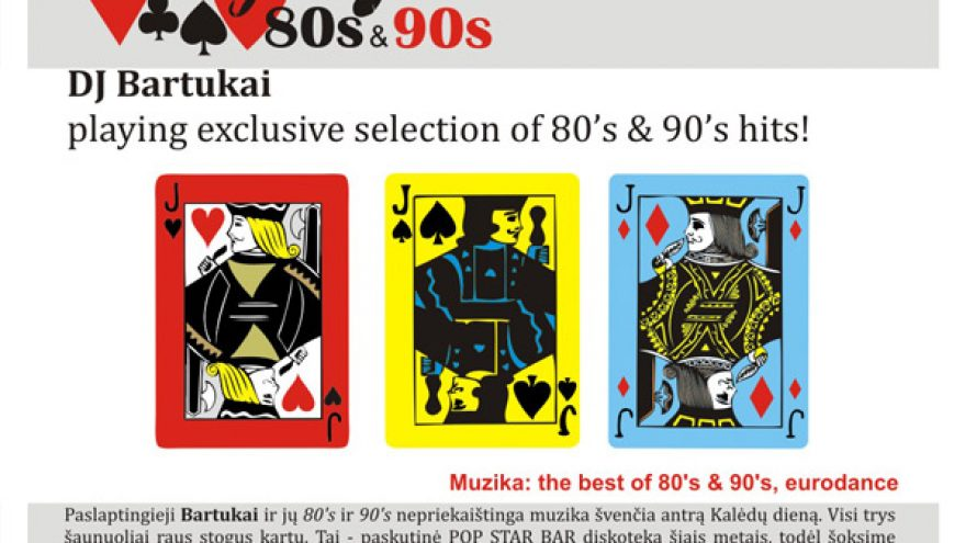 PLAYING 80's & 90's
