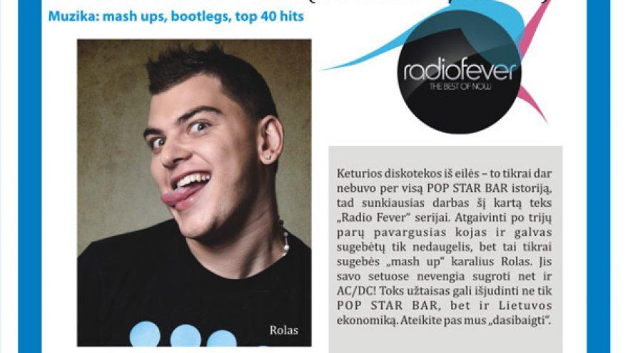 RADIO FEVER: MASH IT UP