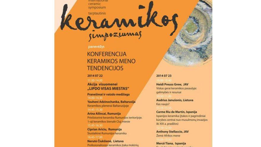 "Konferencija ""Keramikos meno tendencijos"""