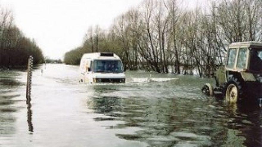 Potvynio stebėjimas