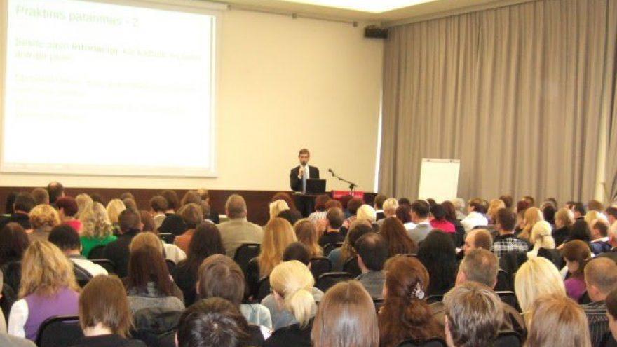 Seminaras VYRAMS APIE MOTERIS IR SAVE