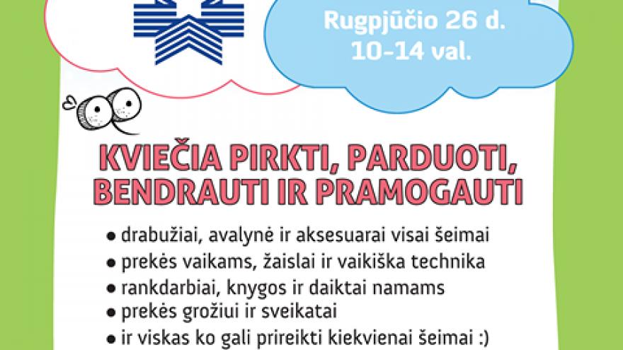 Uodo šeimos turgelis Vilniuje rugpjūčio 26 d.