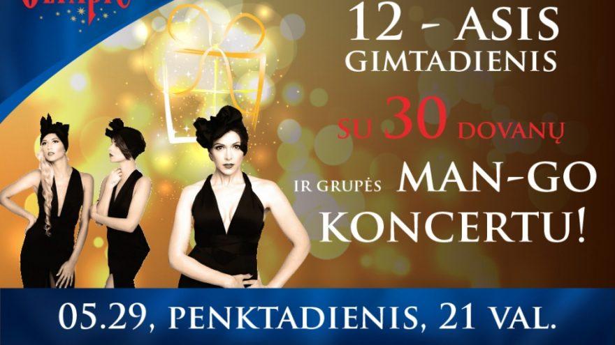 Olympic Casino Lietuva 12-asis gimtadienis!