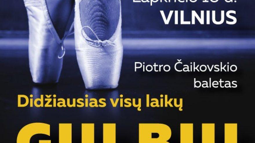 "(KLAIPĖDA) St. Petersburg Festival Ballet ""Gulbių ežeras"""