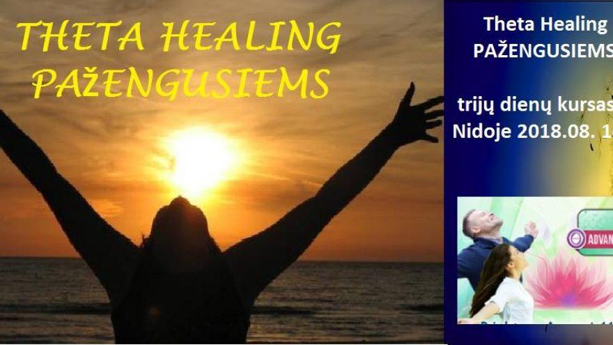 """Theta Healing (""""Teta gydymas"""") kursas Pažengusiems Nidoje"""