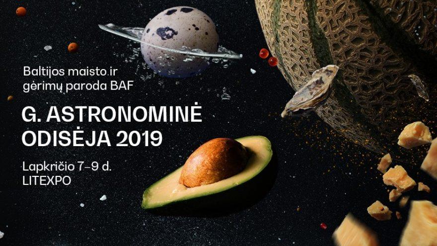 Baltijos maisto ir gėrimų paroda BAF 2019