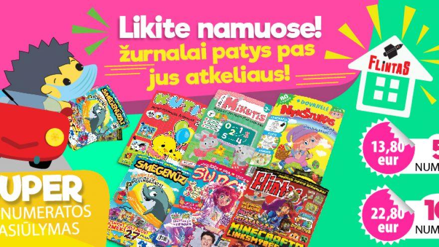 "Žurnalo ""SMEGENŪZAI"" prenumerata"