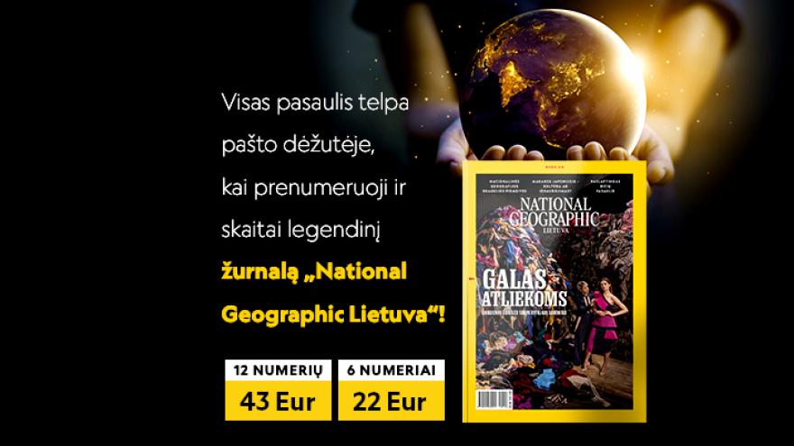 """Žurnalo """"National Geographic Lietuva"""" prenumerata"""