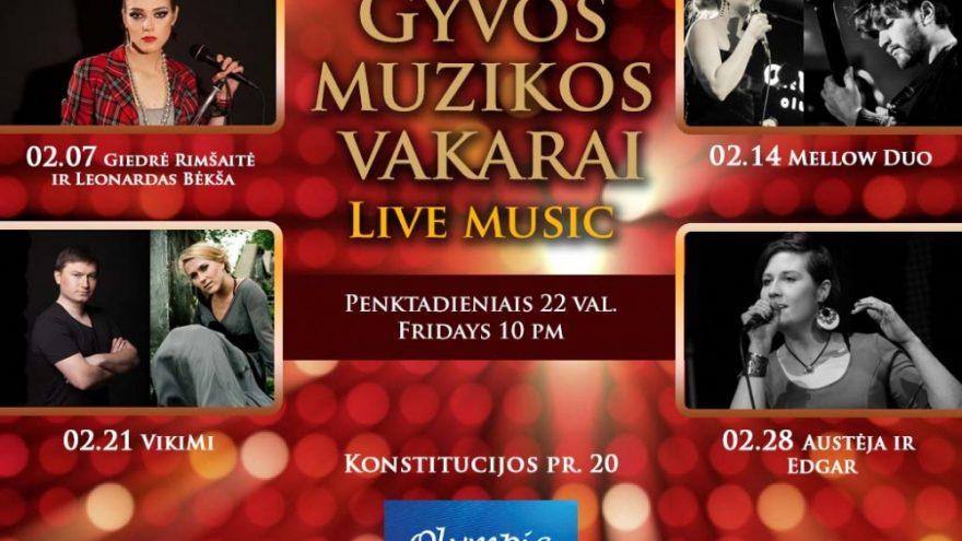 Gyvos muzikos vakarai/Live music