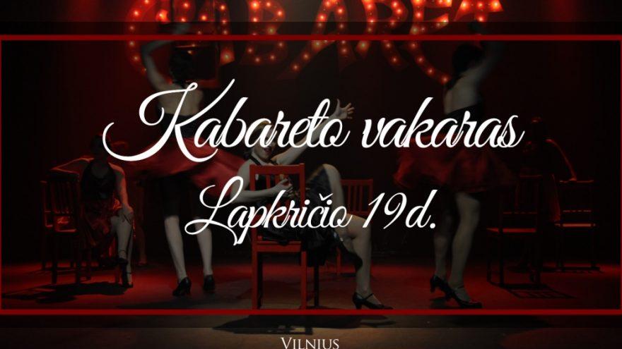 Kabareto vakaras