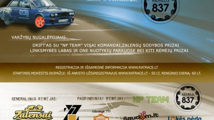 Rat Race orientacinės automobilių varžybos