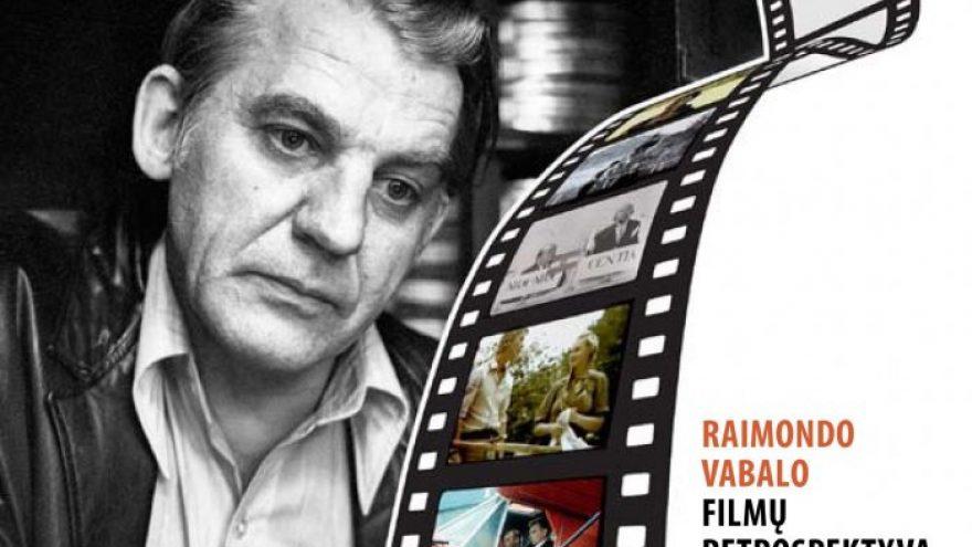 Raimundo Vabalo filmų retrospektyvos pristatymas