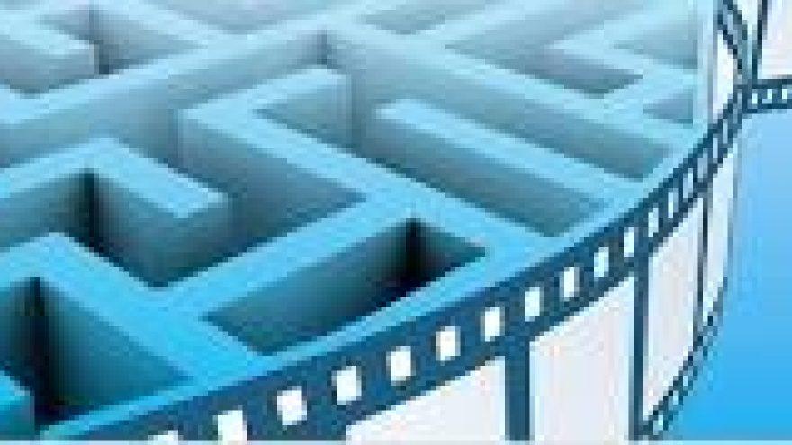 Ilgiausios kino juostos labirinto pynimas