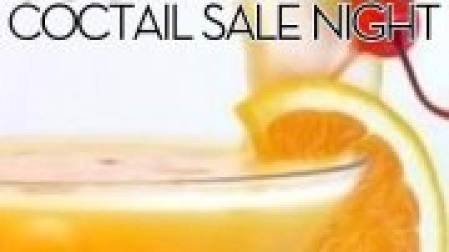 """Just dance"" Coctail sale night"