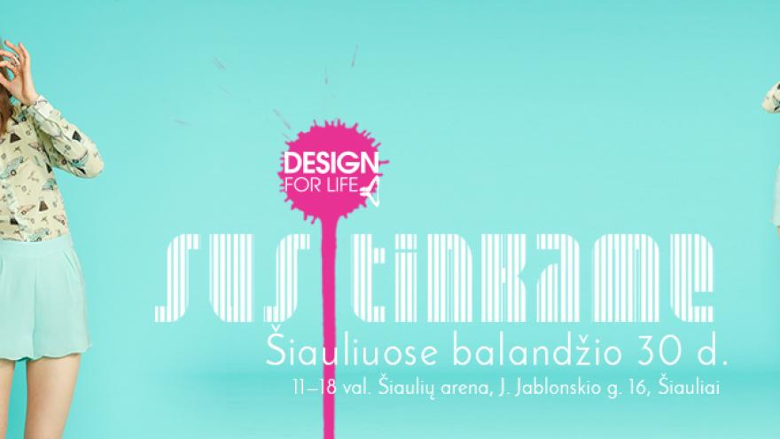 Mados mugė ,,Design for life'' Šiauliai