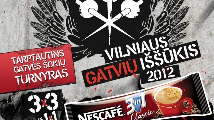 Vilnius Street Challenge 2012 with NESCAFÉ