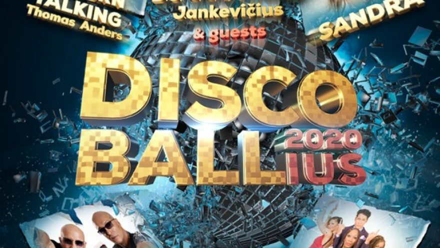 (KAUNAS) DISCO BALL'ius 2020: Thomas Anders, Boney M, Sandra, Right Said Fred ir J. Jankevičius