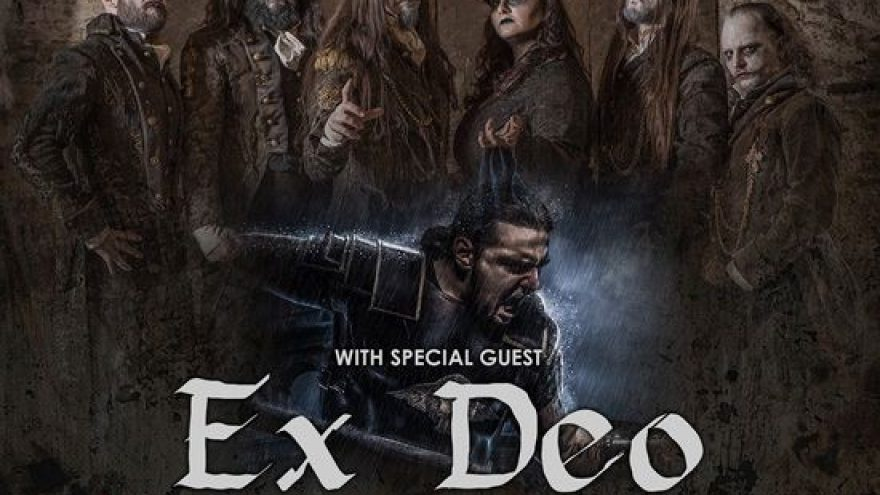 FLESHGOD APOCALYPSE + EX DEO + supports: Veleno Across Europe Tour 2020